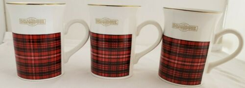 DRAMBUIE Flared Top Coffee Tea Cup Mug Kilncraft STL Made in England Set of 3
