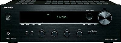 ONKYO HOME STEREO RECEIVER AMP AMPLIFIER WITH BASS TREBLE BALANCE CONTROLS NEW