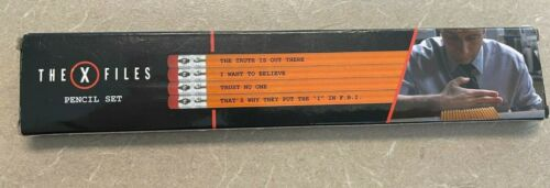 The X Files Loot Crate 4-pack pencils Truth is Out There Free Ship!