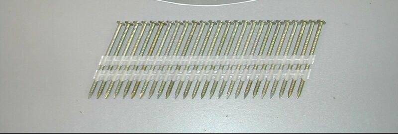 "Spotnails 2-8d113rg 8d 2-3/8"" Galvanized Nails 21 Degree Full Head Ring Nails"
