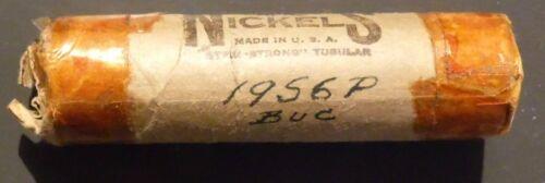 1956-P Jefferson Nickel Choice/Gem BU Roll Uncirculated OBW Original roll