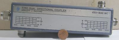 Hp Dual Directional Coupler Model 775d 450-940mc N-type