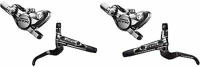 Shimano XTR  Race  BR-M9000 Scheibenbremse SET VR + HR hinten und vorne    ()