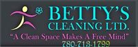 BETTY'S CLEANING LTD. SERVING FORTMCMURRAY FOR 17 YEARS