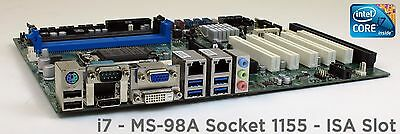 New i7 IVY / Sandy Bridge Socket 1155 Motherboard w/ ISA PCI Express Slots NEW!