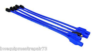 Lincoln Sa-200 Sa-250 Taylor Pro 8mm Spark Plug Wires For Distributors Bw1286