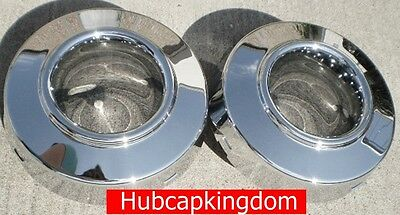 1999 - 2004 FORD F350 4X4 Dually FRONT Center Caps 2 NEW AM 4WD PAIR