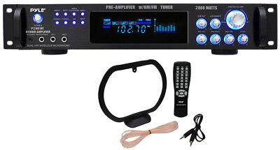 Audio Preamplifier - Pyle Pro P2001AT 2000W Hybrid 19
