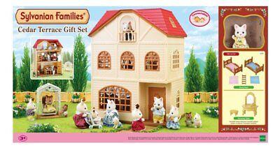 Sylvanian Families Cedar Terrace Play House Gift Set A