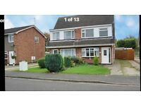 Three bedroom house in Hucknall