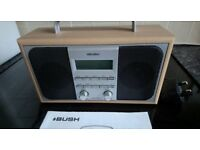 BUSH Digital Radio. DAB. Wooden surround.
