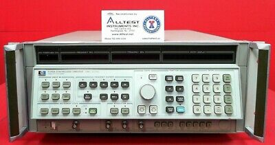 Hp 8340a Synthesized Sweep Signal Generator 10mhz To 26.5ghz