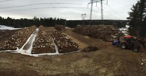 Firewood for sale, cut split and delivered hardwood