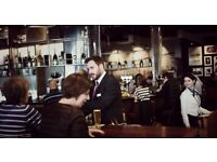 Bartender for Pilots Bar & Kitchen Restaurant at Heathrow Terminal 5 - Airside