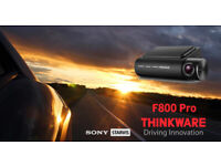 Thinkware F800 Pro-2CH 1080P HD DVR Dash Cam with WiFi, GPS, Safety Camera