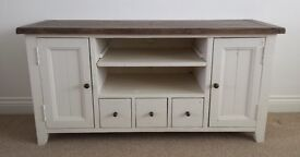 Barker and Stonehouse TV cabinet made from reclaimed wood