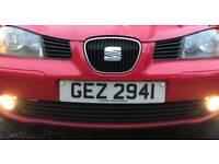 Cherished number plates dateless GEZ 2941