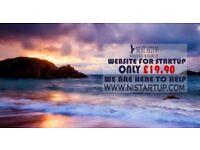 Website Design For Startup-Only £ 19.90