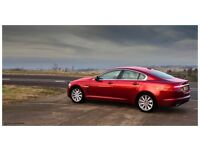 Chauffeur Hire - Red Jaguar XF - Any Occasion - Wedding, Airport Transfers ect...