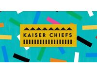 1 Standing Ticket to the Kaiser Chiefs Concert at the O2, 1st of March