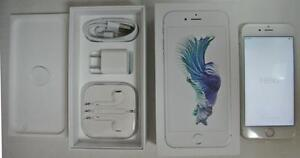 Apple iPhone 6s White Rose 16GB UNLOCKED GSM LTE 30 days Warranty includes all accessories