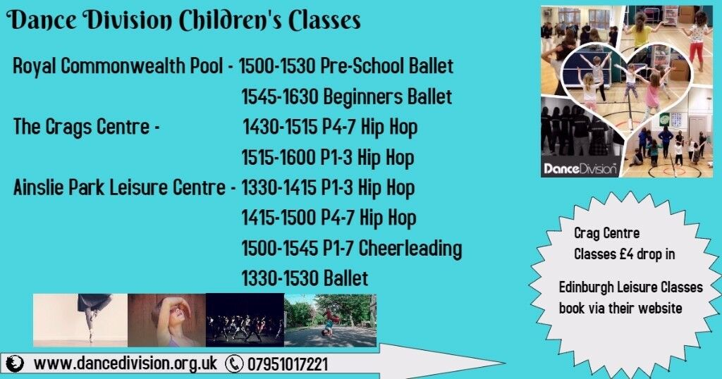 Children's Dance Classes Edinburgh