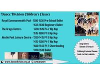 Children's Dance Classes Edinburgh