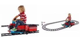 Chad Valley Powered Ride on Train and Track Set - good condition
