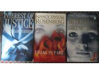 Nancy Taylor Rosenberg hardback books