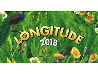 Selling Longitude 2018 Weekend Ticket
