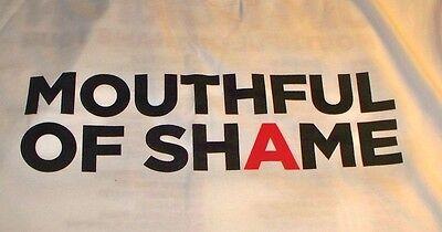 Jim Norton Mouthful Of Shame Concert T-shirt L Never Worn
