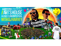 2 tickets for DJ Harvey in London