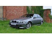 Late 2002 BMW 530i Sport Auto Sterling Grey ONLY 95K! Full MOT Sat Nav Black Leather
