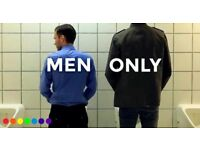 Men only, Food and Freedom and Welcoming Change - London events