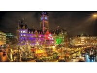 Staff wanted for christmas markets