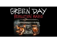 3x Green Day tickets at o2 Arena London 8/2/17