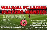 WALSALL FC LADIES