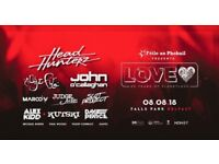 Planet love ticket