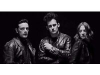 Black Rebel Motorcycle Club, Rock City, Nottingham. Friday 3rd November. 2 tickets £60