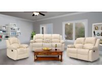sofas leather recliner fabric non recliner Brand new By Ahton furnitre®