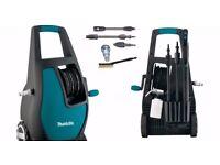 Makita HW132 Compact Power Washer 140bar 240v -NEW-
