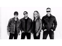 Metallica 22nd October - O2 at 18:00 pm - paper ticket