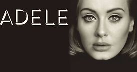 4 x Adele tickets for Wembley Stadium Saturday 1st July 2017