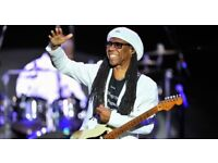 Chic and Nile Rodgers - Wednesday 21st March Royal Albert Hall - Two Standing Tickets