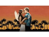 2 x Romeo and Juliet Secret Cinema VIP Tickets Aug 23