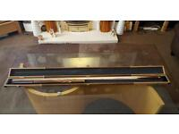 Brand new snooker cue and case