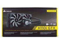 *NEW* Corsair Hydro H110i GTX AIO Liquid CPU Cooler w/ 280mm Radiator + dual SP140L Fans