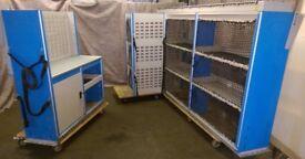 Bristor Van racking, Van shelving, Pipe Rack, Bottle strap, cupboard, workshop