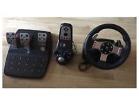 G27 Logitech steering wheel PS3 /PC