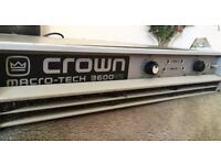 Crown Macro-Tech 3600VZ Amplfier, used. £600 ono